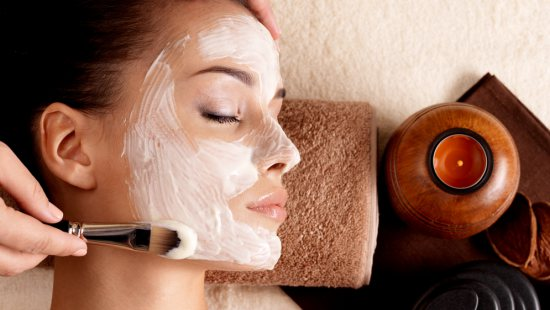 Traditional facial treatment